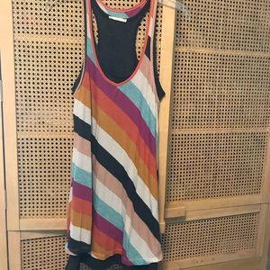 Alternative apparel double layered tank dress. S